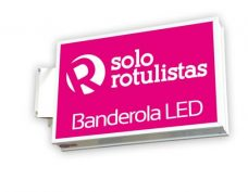 banderolas luminosas LED
