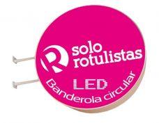 banderola circular LED